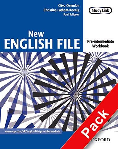 New english file. Pre-intermediate. Workbook. With key. Per le Scuole superiori. Con Multi-ROM: Six-level general English course for adults
