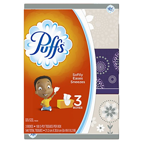 Puffs Facial Tissue - 3pk