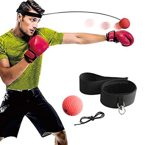 Gdaytao Boxing Reflex Ball Set, Reflex Ball on String with Headband, Reflex Punching Fight Equipment...