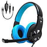 Cocoda Casque Gaming pour PS4 Xbox One, Casque Gamer Micro Stéréo Anti-Bruit Basse...