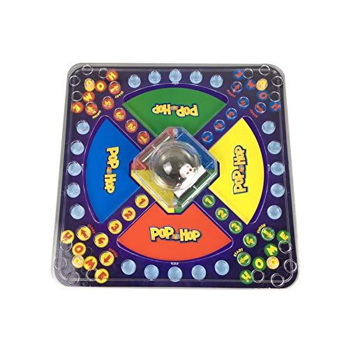 Hualieli Gioco da Tavolo interattivo Genitore-Figlio | Puzzle educativo Scacchiera da Battaglia navale | Classic Trouble Board Game | Giochi per Feste in Famiglia Giocattolo per Bambini