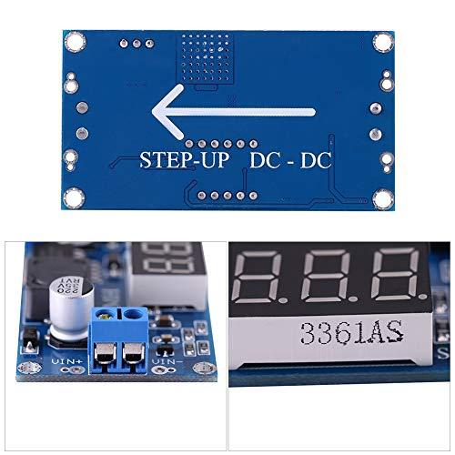 Módulo de aumento de potencia, conexión conveniente Módulo de refuerzo de CC a CC de 4,5 V-32 V a 5 V-35 V Convertidor de refuerzo de módulo elevador, para batería de almacenamiento para