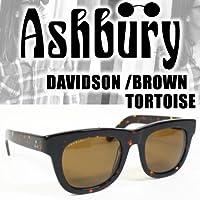 アシュベリー アシュベリー サングラス DAVIDSON BROWN TORTOISE -BROWNレンズ ashbury サングラス