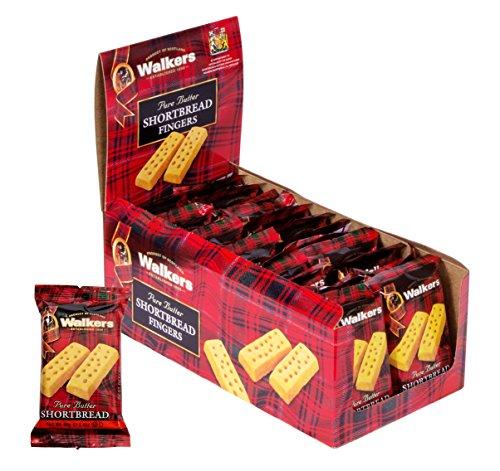 Walkers Shortbread Fingers Shortbread Cookies Snack Packs, 24 Count