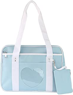 Ita Bag Heart Shape Window Japanese School Handbag Large JK Bag Girls Duffle Purse Anime School Satchels for Lolita Comic ...