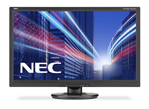 NEC AccuSync AS242W LED Display 61 cm (24') Full HD Plana Negro - Monitor (61 cm (24'), 1920 x 1080 Pixeles, Full HD, LED, 5 ms, Negro)