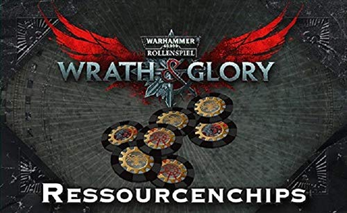 WH40K Wrath & Glory - Ressourcenchips (Wrath and Glory Zubehör)