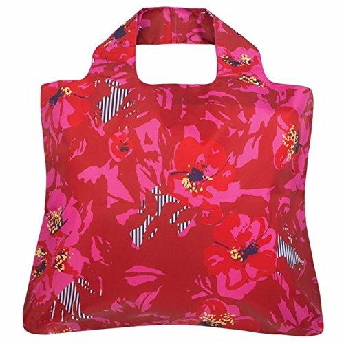 Envirosax Shopping Bag Mai Tai 5 (rosso) MT.B5 Roll Up Fold...