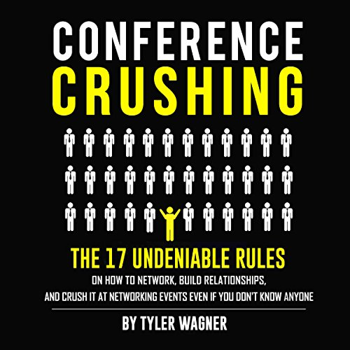 Conference Crushing audiobook cover art