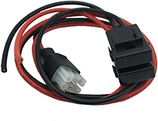 DONG 30A Fuse Short Wave Power Cord Cable for Yaesu Radio FT-857 FT-897 FT-847 FT-890 FT-920 FT-1000 (1M)