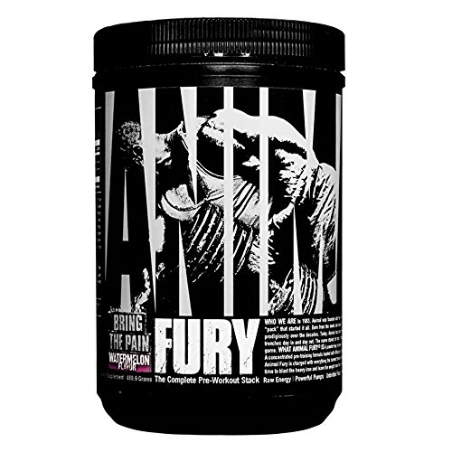 Animal Fury Pre Workout Powder Supplement Watermelon - 30 Servings