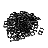 uxcell 50pcs 18650 Lithium Battery Double Holder Bracket for DIY Battery Pack