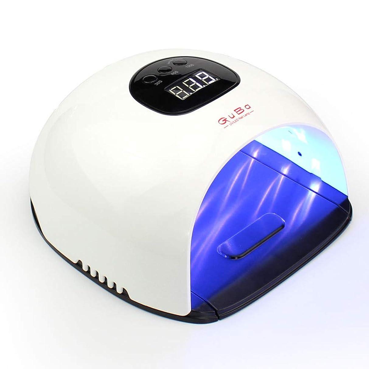 サッカーブラストいちゃつくネイルドライヤー - LEDマシン光線療法ネイルマシン48Wマルチタイムタイミング無痛モード36ランプビーズデジタル表示高速乾燥機