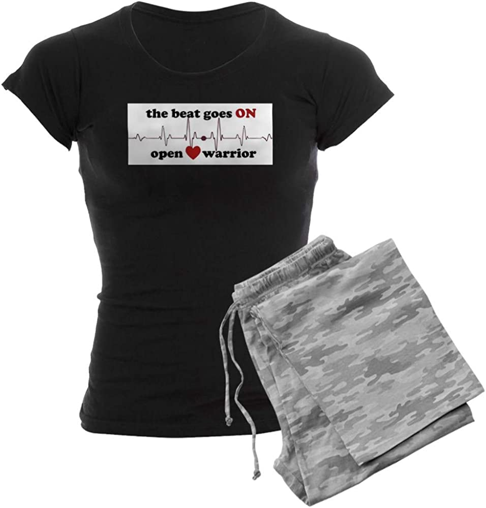 CafePress Open Heart PJs 数量限定アウトレット最安価格 Women's 限定モデル Warrior