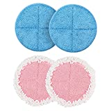 OGORI 4 Pack Replacment Electric Mop Pads, Cleaning & Waxing Pads, 7.28inch