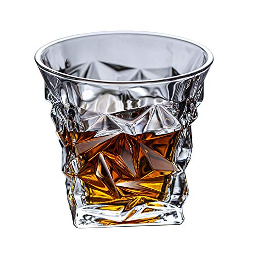 Vasos de whisky Crystal Rocks Cristalería y vaso de cóctel antiguo para Bourbon Scotch Whisky Cognac Home Beber Glass Bar Catering Cerveza Vaso XO Whisky