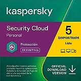 Kaspersky Security Cloud - Personal | 1 Cuenta de usario 5 Dispositivos | 1 Año | PC / Mac / Android | Código de activación vía correo electrónico