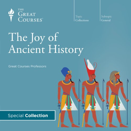 The Joy of Ancient History audiobook cover art