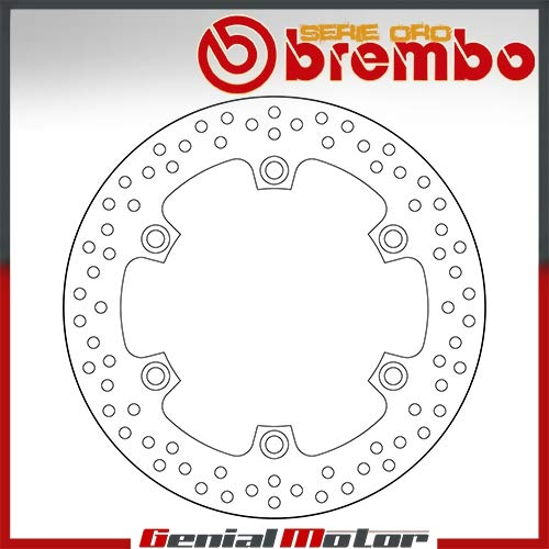 68B407A6 Disco de Freno Fijo Brembo Serie Oro Posterior por Cbr Xx 1100 1997 > 2004