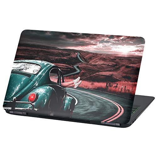 Laptop Folie Cover: Fahrzeuge Klebefolie Notebook Aufkleber Schutzhülle selbstklebend Vinyl Skin Sticker (15 Zoll, LP36 Qualitytime)