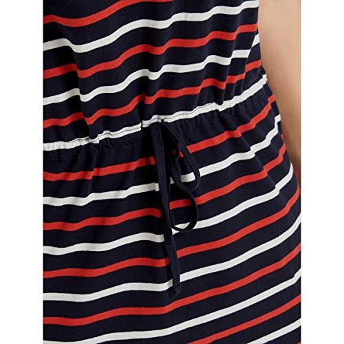 Only Onlmay S/s Dress Noos Vestido, Multicolor (Night Sky Stripes: Multi Flame Scarlet/Cl. Dancer), 38 (Talla del Fabricante: Small) para Mujer