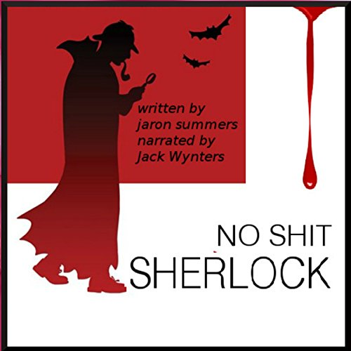No Shit Sherlock audiobook cover art