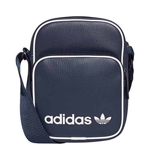 adidas Mini Bag Vint Sac bandoulière, 25 cm, Bleu...