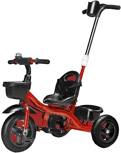 sorteos de estadio Hhoro Niños bebés Triciclos Bicicletas 1-3 Bicicletas Bicicletas para para para bebés Coches para Niños Coches de Pedales para Carro de bebé (Color  rojo) (Color   rojo)  ventas directas de fábrica