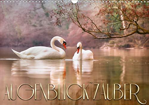 AUGENBLICK ZAUBER (Wandkalender 2021 DIN A3 quer)