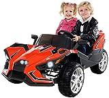 Actionbikes Motors Kinder Elektroauto GT Super Speed JC888 – 4x40 Watt Motor – 2-Sitzer - Eva Reifen – Allrad – Kinderauto (Schwarz)
