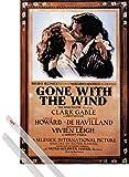 1art1 Vom Winde Verweht Poster (91x61 cm) Clark Gable Und
