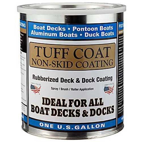 TUFF Coat UT-100 Lt Grey, Gal,Tuff Coat 1 Gallon Lt Grey, Non-Skid Coating