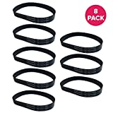 Crucial Vacuum Replacement Style S Belt Parts # 84756, 69950 - Compatible with Eureka Belts - Fit Model...