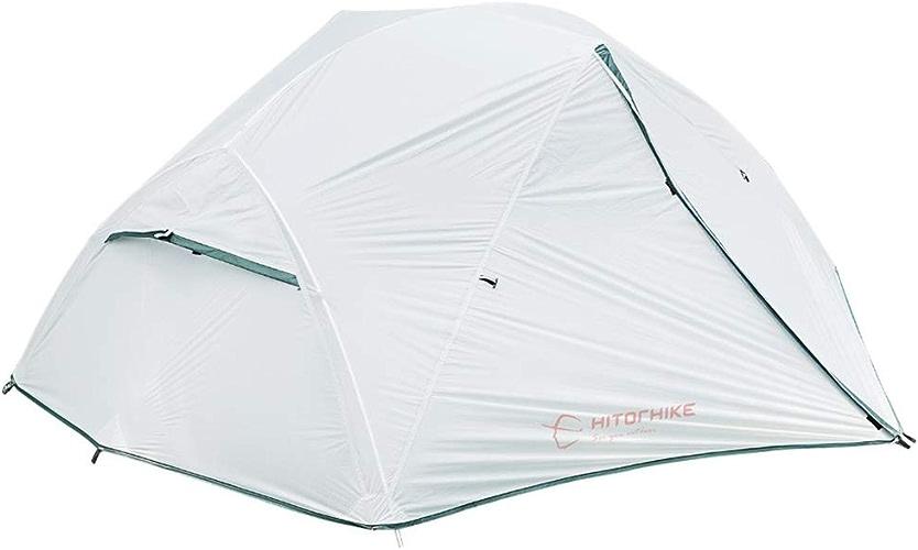 FANN Coupe-Vent Camping Tente, 1-2 Personne Double Couche étanche Pop Up Ouvert Anti UV Tentes De Tourisme pour Randonnée en Plein Air Voyage De Plage