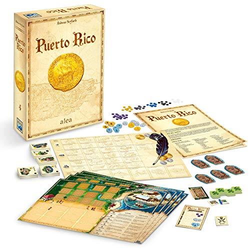 Ravensburger 26928 Puerto Rico Versione Italiana, Strategy Game, 2-5 Giocatori, Età Consigliata 12+