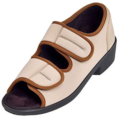 Promed Pedibelle Diana Damen-Sandalette schwarz (37, schwarz)