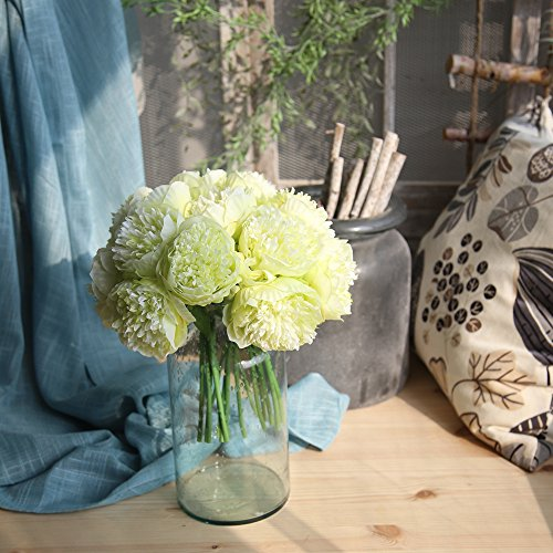 VJGOAL dames meisjes kunstmatige zijde namaakbloemen pioenroos bloemen bruiloft boeket bruidsboeket bruiloft hydrangea decoratie hoofddecoratie cadeau voor moeder