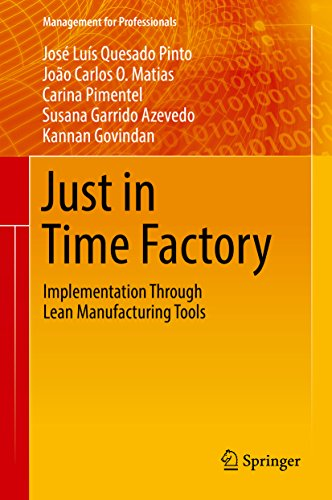 Just in Time Factory: Implementation Through Lean Manufacturing Tools (Management for Professionals) (English Edition)
