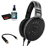 Sennheiser HD 650 Open Back Professional Headphone with 6Ave Headphone Cleaning Kit