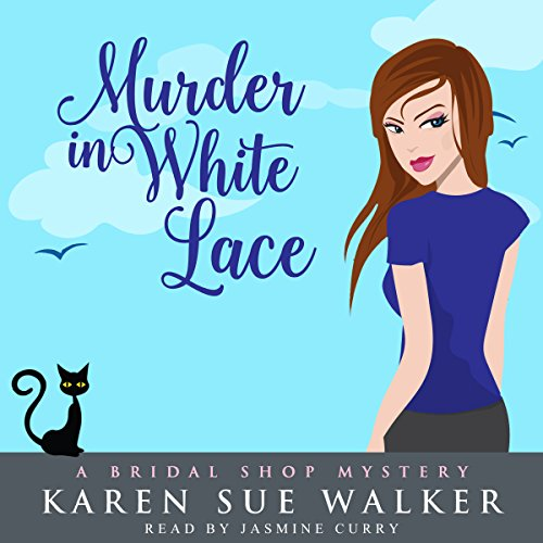 Murder in White Lace audiobook cover art