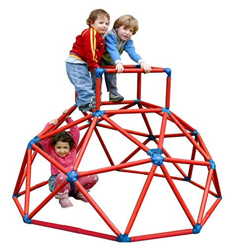Monkey Bar Klettergerüst rot Kletterturm Spielturm Spielgerüst belastbar bis 70kg