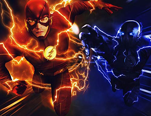 31inch x 24inch/78cm x 60cm The Flash Season 3 Silk Poster