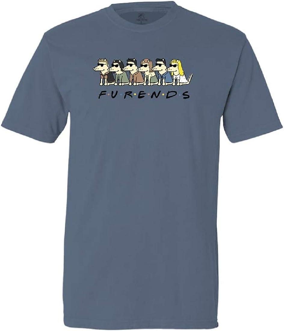 Teddy the Dog Virginia Beach Mall F-U-R-E-N-D-S - Sleeve Tee Shirt Classic service Short