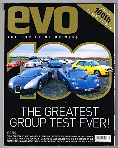 Evo Magazine No.100 January 2007 MBox3262/E The greatest group test ever! -...