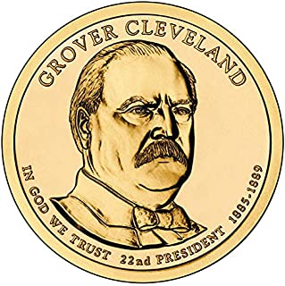 2012 S Proof Grover Cleveland Presidential Dollar 1st Term Choice Uncirculated US Mint