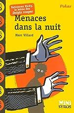 Menaces dans la nuit de Marc Villard