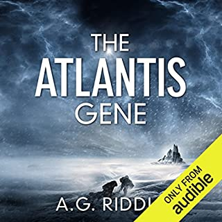 The Atlantis Gene     The Origin Mystery, Book 1              Written by:                                                                                                                                 A.G. Riddle                               Narrated by:                                                                                                                                 Stephen Bel Davies                      Length: 15 hrs and 44 mins     16 ratings     Overall 3.9