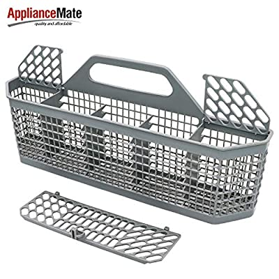 Appliancemate WD28X10128 Dishwasher Silverware Basket Compatible With General Electric&Kenmore Replace Number AP3772889, 1088673, AH959351