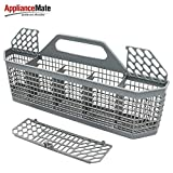 WD28X10128 Dishwasher Silverware Basket (19.7'x3.8'x8.4') Compatible With General Electric(GE) Replace Number AP3772889, 1088673, AH959351