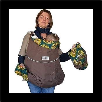 Cobertor para portabeb/és color amaranto y negro Manduca Deluxe